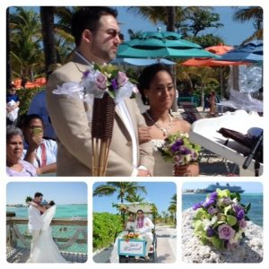 Wedding on Castaway Cay