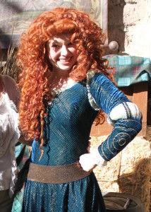 Magic Kingdom Live Entertainment - Princess Merida