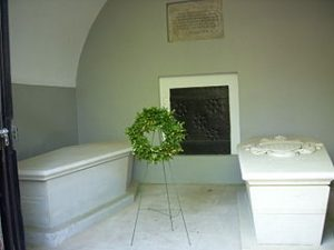 Tombs of George and Martha Washington at Mount Vernon Estate