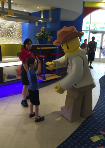 Meet Lego Characters at Legoland Hotel