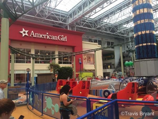 American girl closing
