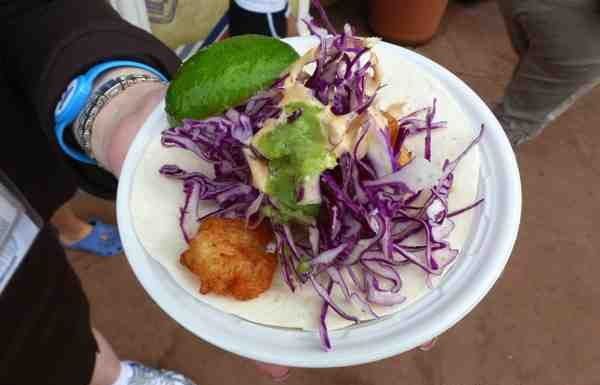 Taco de Camarón Mexico