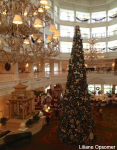 Christmas Tree at Grand Floridian