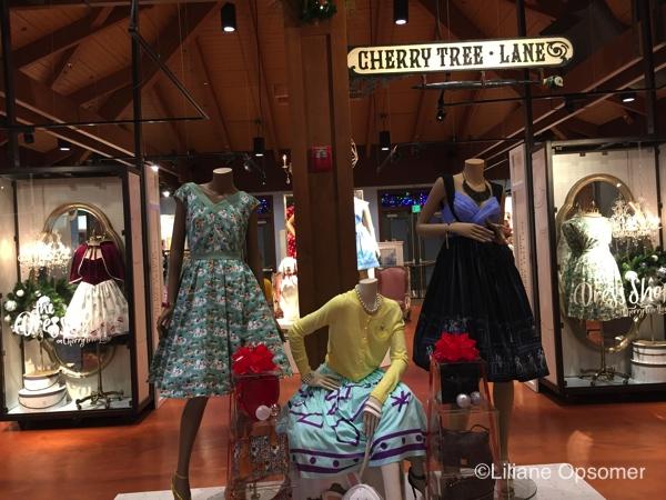 Shopping at Disney Springs Cherry Tree Lane
