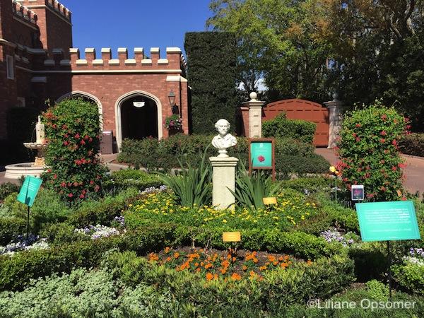 Shakespeare Garden Epcot Flower and Garden 2018 - The Unofficial Guides