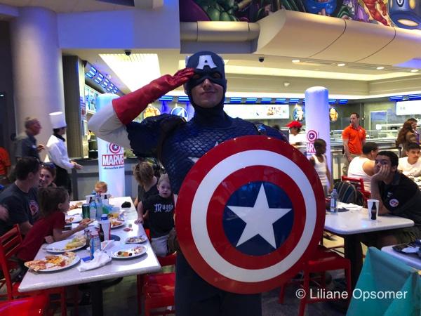 Marvel dinner