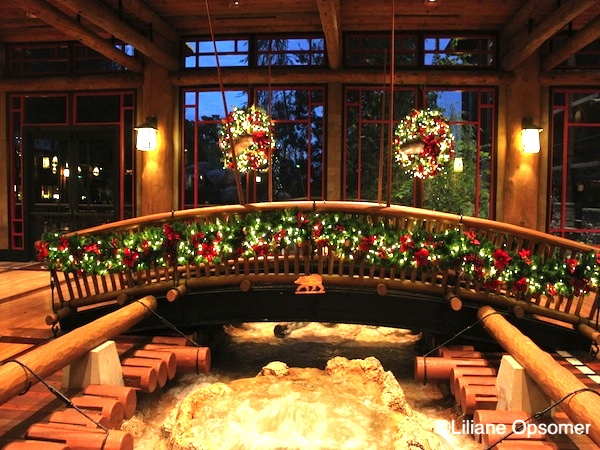 Wilderness Lodge at Christmas