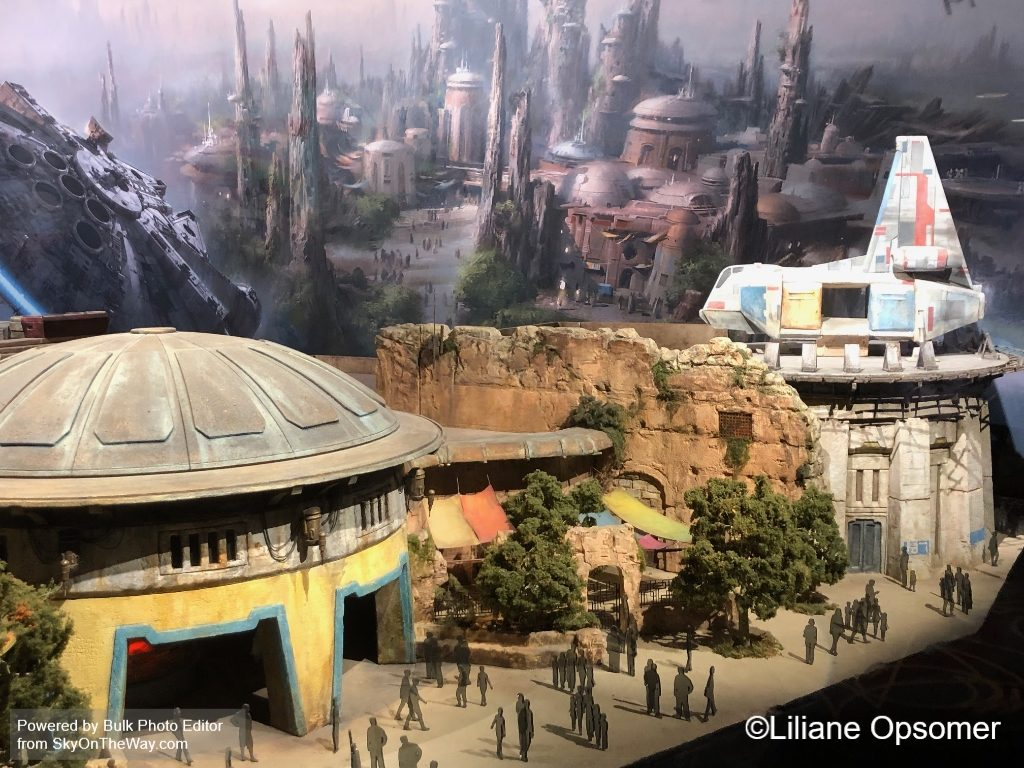 Star Wars Galaxy's Edge model