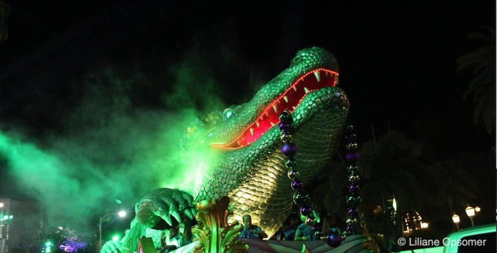 Mardi Gras Banner Universal Studios 2019