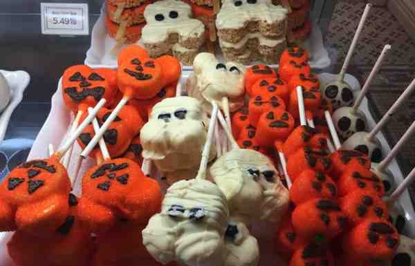 Halloween Treats at Mickey's Not So Scary Halloween Party