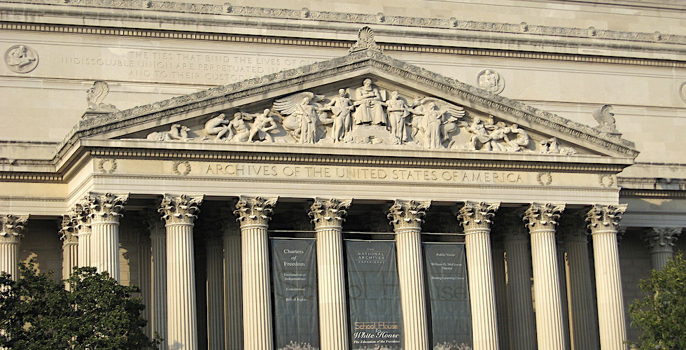 National Archives banner