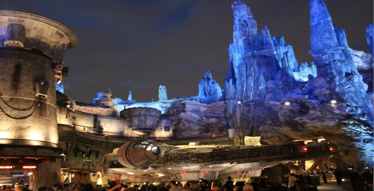 Galaxys Edge Now Open at Disneyland banner - The ...