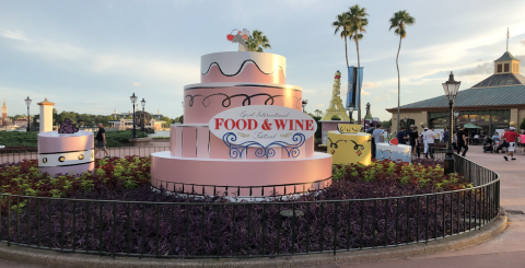 Epcot Food and Wine 2019 banner