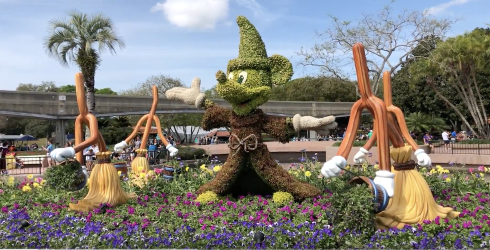 Epcot Flower and Garden Banner 2020