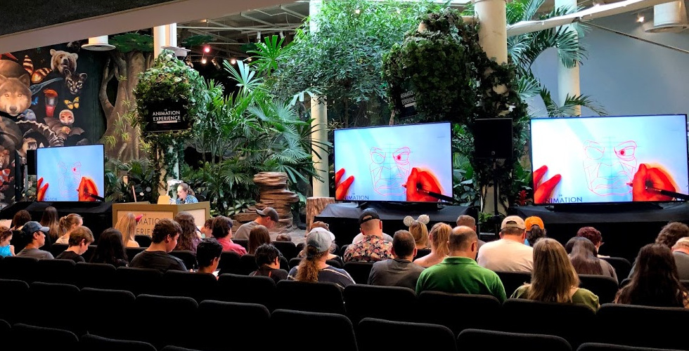 Disney Animal Kingdom Animation Experience Conservation Station featured