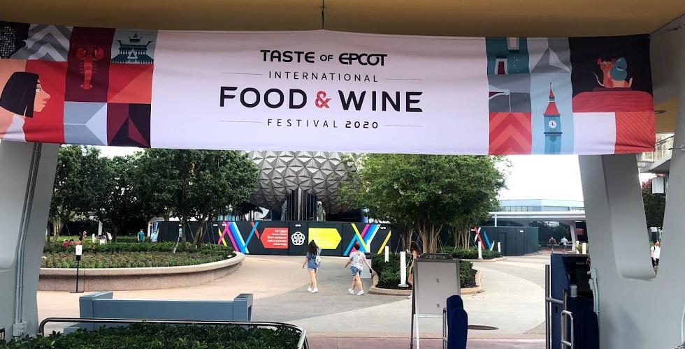 Taste of Epcot International Food Wine 2020 banner featured