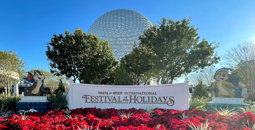 2020 Taste of Epcot International Festival of the Holidays featured