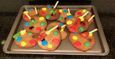Gingerbread cookies Banner