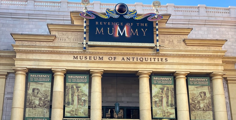 USF Revenge of the Mummy facade featured