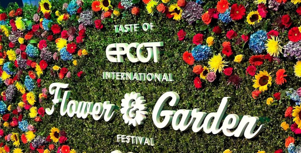 2021 Taste of EPOCT International Flower Garden Festival featured