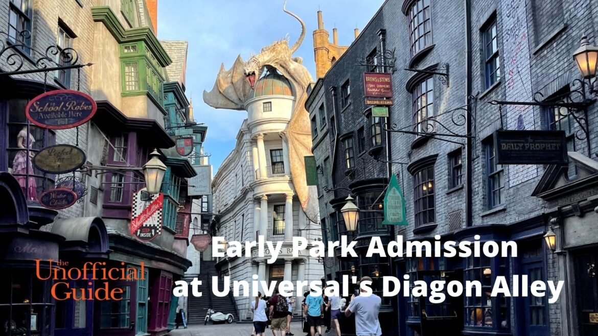 Early Park Admission at Universal's Diagon Alley (1)