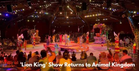 Lion King returns to Animal Kingdom