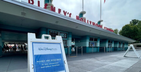 DHS Entrance social distancing relaxed
