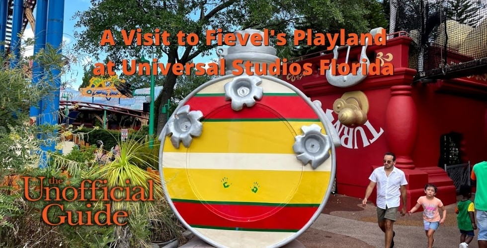 Visit to Fievel's Playland featured