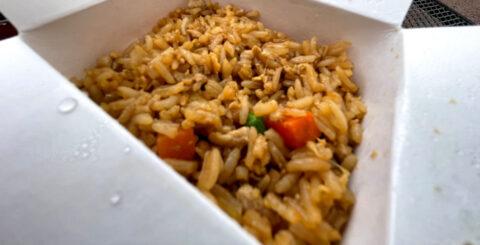 Yak Yeti Chicken Fried Rice Best Disney Snacks featured