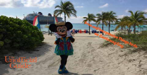 Free and Inexpensive Things to do on Disney's Castaway Cay