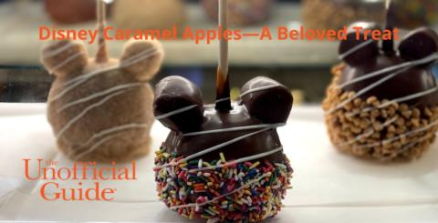 Disney Caramel Apples—A Beloved Treat
