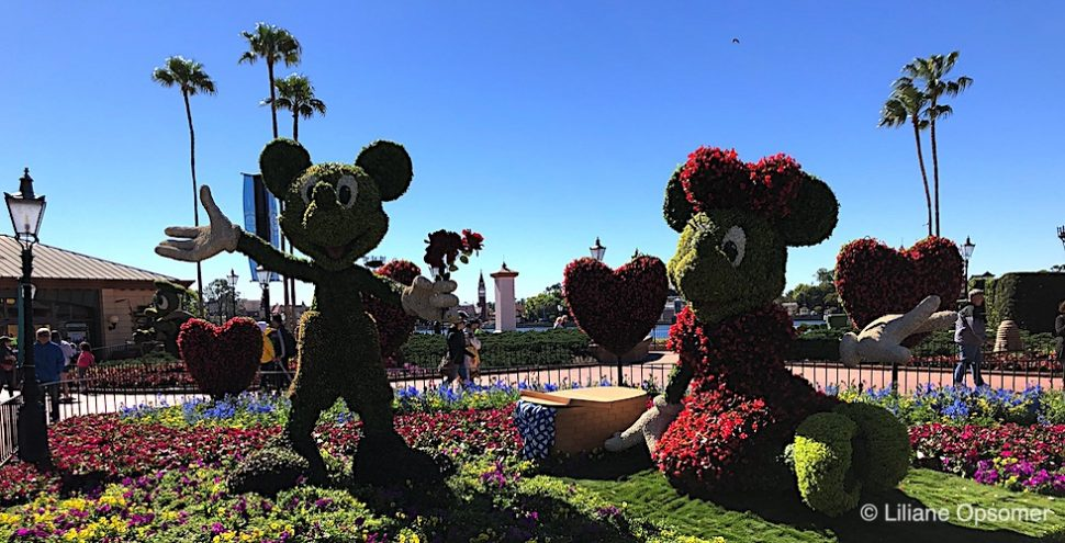 Epcot Flower & Garden with Kids Banner