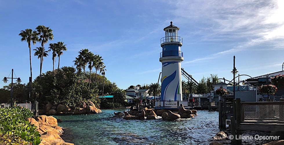 SeaWorld Orlando Banner
